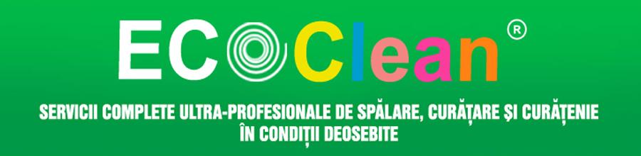 Eco Clean, Bucuresti - Servicii de curatenie, spalatorie, curatatorie Logo