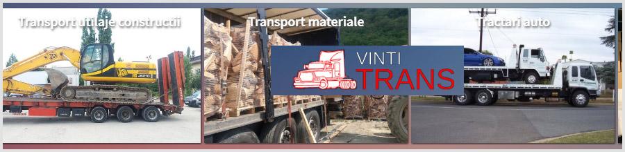 VINTI TRANS servicii transport Bucuresti Logo