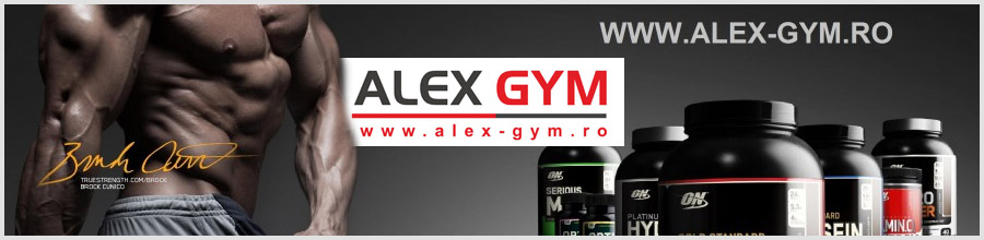 Alex Gym Logo
