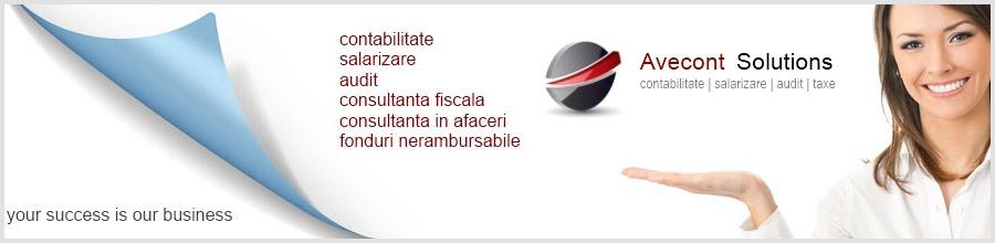 AVECONT SOLUTIONS Servicii de contabilitate completa Bucuresti Logo