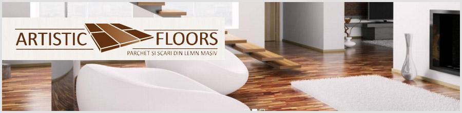 Artistic Floors comercializare, montare si finisare parchet masiv Ilfov Logo