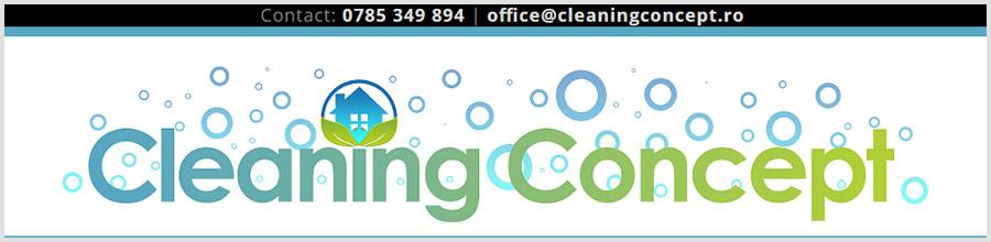 Cleaning Concept Serv servicii de curatenie Bucuresti Logo