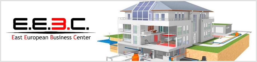 East European Business Center EEBC - Instalatii termice, sanitare, ventilatie, Bucuresti Logo