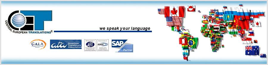 BIROU DE TRADUCERI CET CENTRAL EUROPEAN TRANSLATIONS Logo
