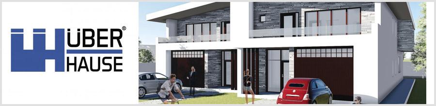 UBERhause 100% proiecte case originale Bucuresti Logo