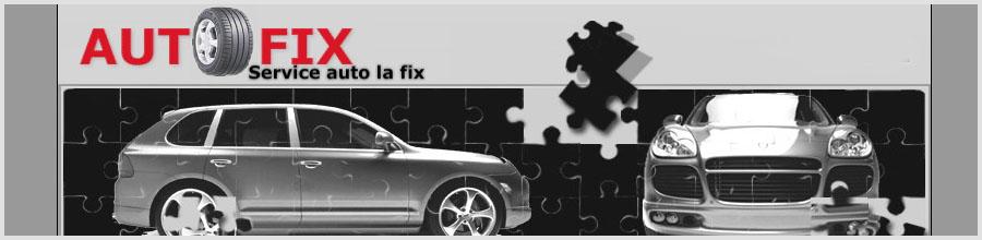 Autofix - service auto Bucuresti Logo