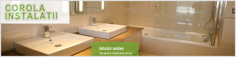 Corola Instalatii - Instalatii sanitare, electrice si gaze Bucuresti Logo