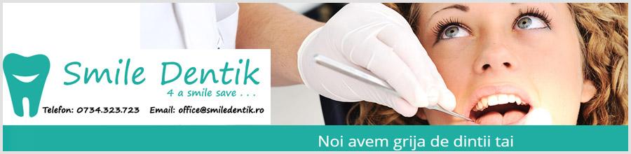 Smile Dentik - cabinet stomatologic -Bucuresti Logo
