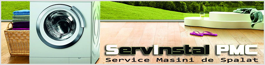 ServInstal PMC - Reparatii masini de spalat la domiciliul dvs Logo