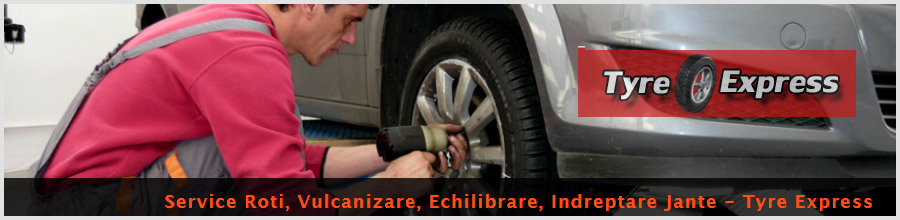 Tyre Express. Service auto in Bucuresti, sector 4 Logo