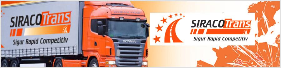 Siraco Trans - transport marfa intern si international Bucuresti Logo