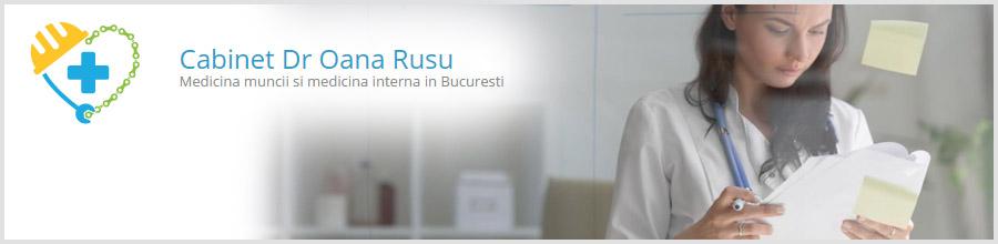 Dr. Oana Rusu - Medicina muncii si medicina interna Logo