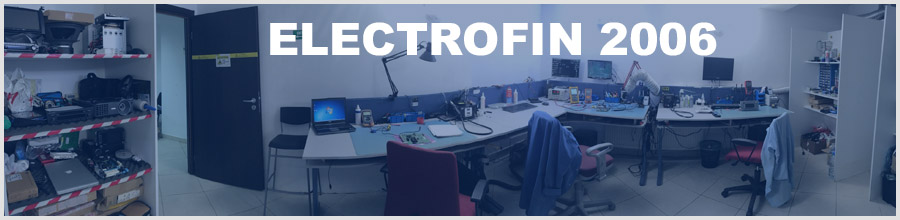 ELECTROFIN 2006 reparatii laptopuri, plasma TV, LCD TV Bucuresti Logo