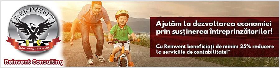 Reinvent Consulting - consultanta comerciala, juridica, financiara si fiscala Bucuresti Logo