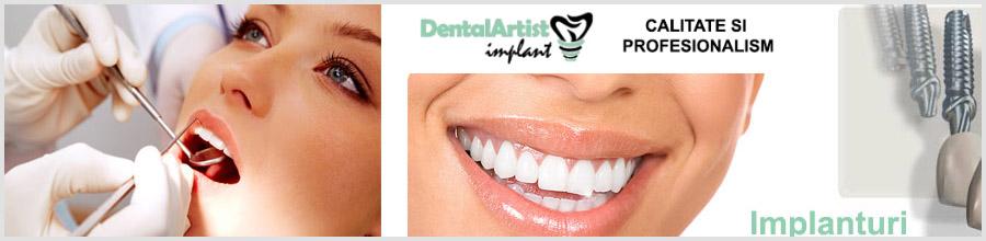 Clinica Stomatologica Dental Artist Implant Logo