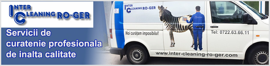 Inter Cleaning RO GER Curatenie profesionala Bucuresti Logo