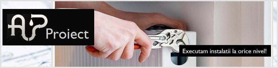 AP PROIECT instalatii termice, electrice si sanitare Bucuresti Logo