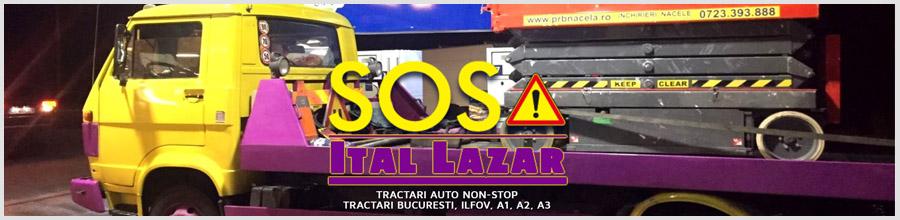 ITAL LAZAR - Tractari Auto non-stop Logo