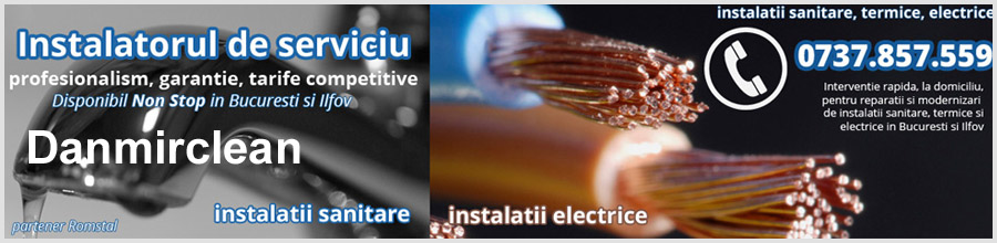 Danmir Clean - instalatii gaze, termice, sanitare, electrice Bucuresti, Ilfov Logo