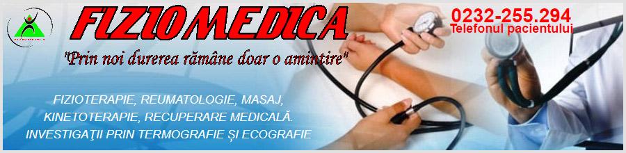 Fiziomedica recuperare medicala Iasi Logo
