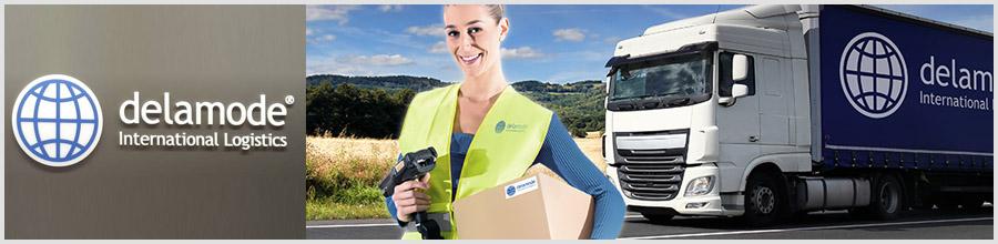 Delamode Romania - Servicii de transport international, Bucuresti Logo