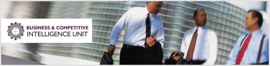 BUSINESS & COMPETITIVE INTELLIGENCE UNIT Logo