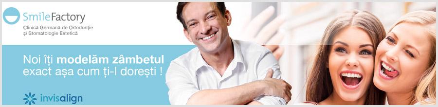 Smile Factory Clinica de ortodontie si estetica dentara Bucuresti Logo
