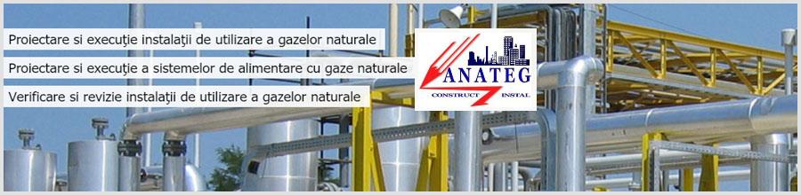 Anateg Construct Instal, Bucuresti - Instalatii termice, climatizare si sanitare Logo