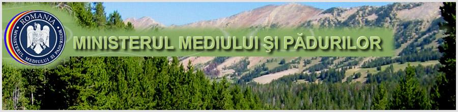 MINISTERUL MEDIULUI, APELOR SI PADURILOR Logo