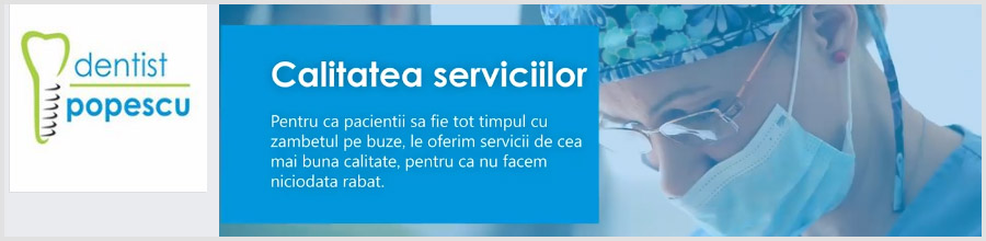 Cabinet Stomatologic Dentist Popescu Craiova Logo