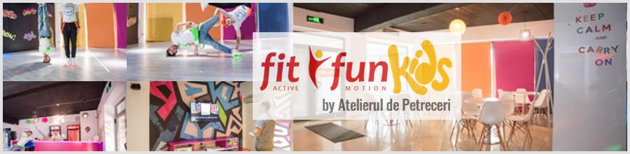 Fit Fun Kids petreceri copii, banchete scolare, serbari Bucuresti Logo