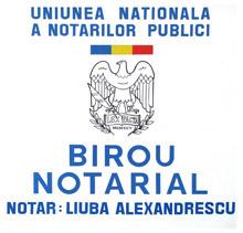 Birou Notarial ALEXANDRESCU LIUBA Logo