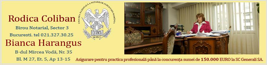 Birou Notarilor Publici COLIBAN RODICA SI HARANGUS BIANCA Logo