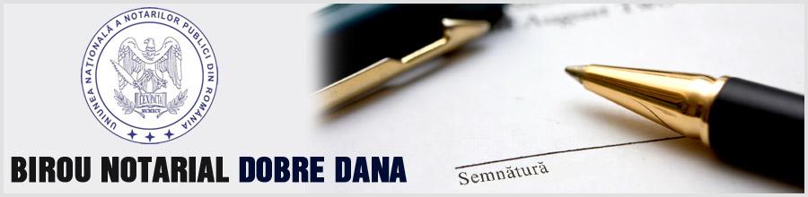 Birou Notarial DOBRE DANA Logo