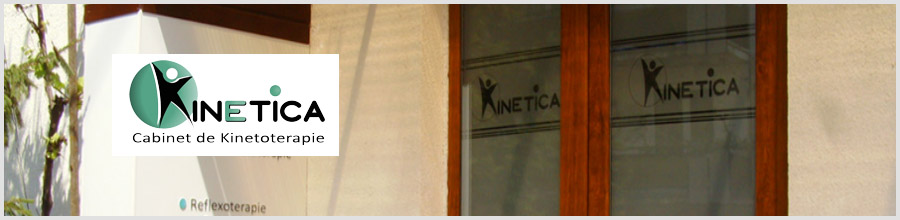 KINETICA - kinetoterapie Mures Logo