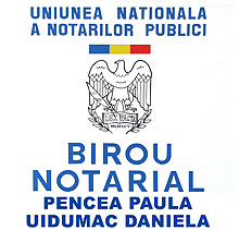 Birou Notarial UIDUMAC DANIELA Logo
