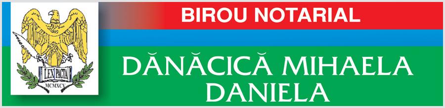 Biroul Notarilor Publici DANACICA MIHAELA DANIELA, MARINCA ALEXANDRA MAGDALENA Logo