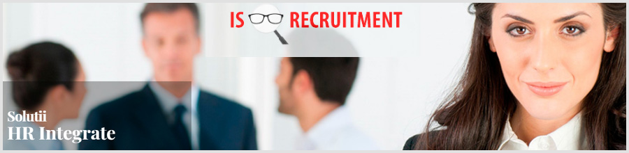 IS Recruitment recrutare si selectie personal Bucuresti Logo
