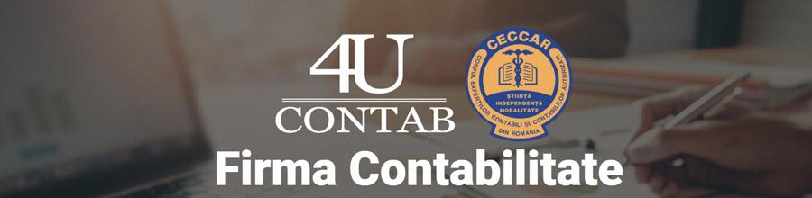 4U CONTAB PROJECT Contabilitate si Expertiza Contabila Constanta Logo