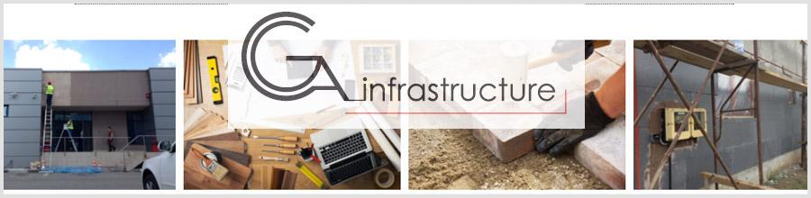 CGA Infrastructure - Constructii si mentenanta cladiri, Bucuresti Logo