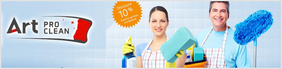 General Art Pro Clean Servicii de curatenie de inalta calitate Bucuresti Logo
