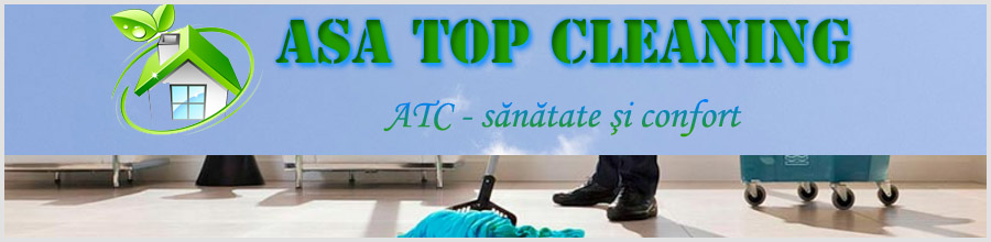 ASA TOP CLEANING - Servicii de curatenie Bucuresti Logo