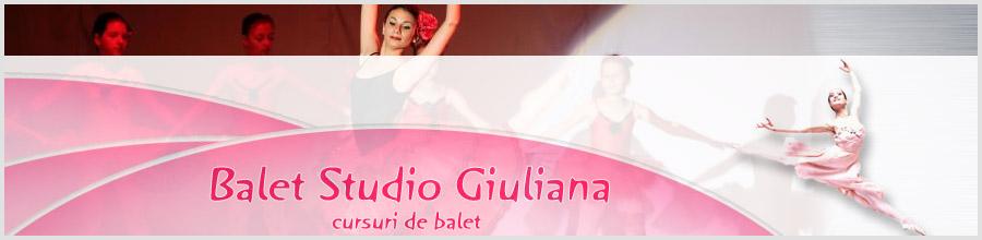 Scoala de balet GIULIANA Bucuresti Logo