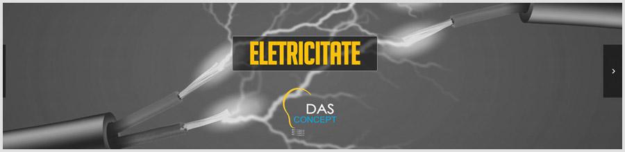 DAS Concept proiectare, executie instalatii electrice Sibiu Logo