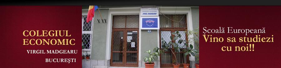Virgil Madgearu, Colegiul Economic - Bucuresti Logo