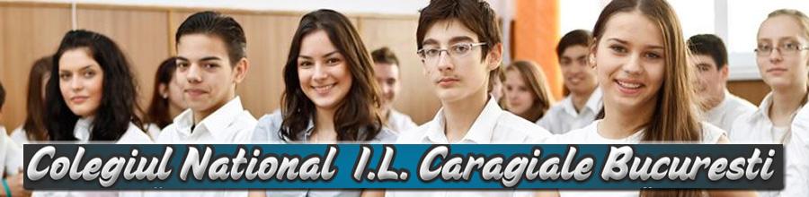 I.L. Caragiale, Colegiul National - Bucuresti Logo