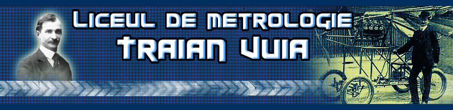 LICEUL DE METROLOGIE TRAIAN VUIA Logo