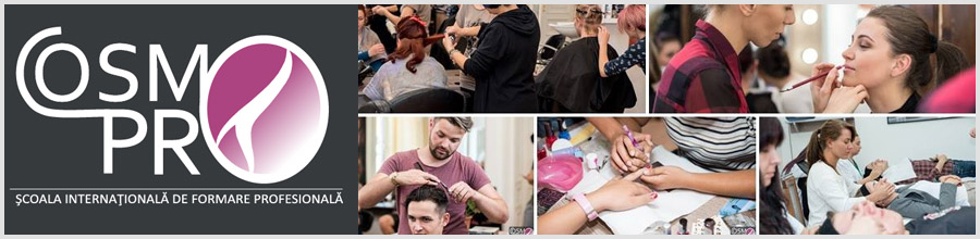 CosmoPro Center - Cursuri de formare profesionala Arad - Coafura si cosmetica Logo