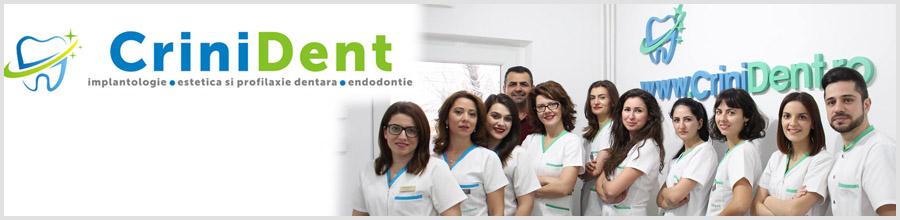 Crini Dent-cabinet stomatologic- Craiova Logo