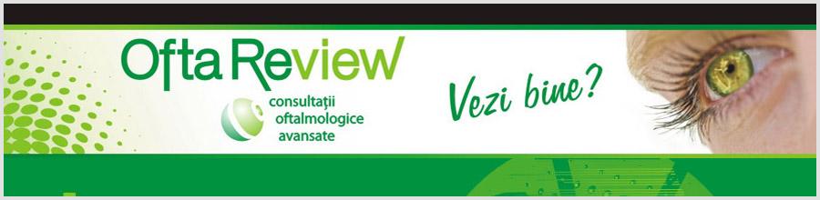 Centrul de Investigatii Oftalmologice REVIEW Logo